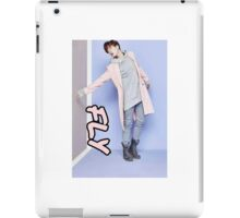 youngjae fly iPad Case/Skin
