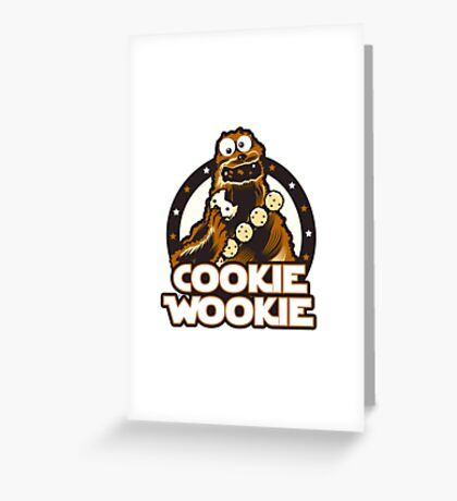Wookie Cookie Parody Greeting Card