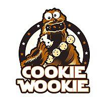 Wookie Cookie Parody Photographic Print