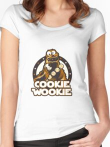 Wookie Cookie Parody Women's Fitted Scoop T-Shirt