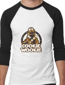 Wookie Cookie Parody Men's Baseball ¾ T-Shirt