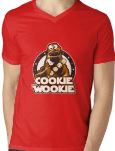 Wookie Cookie Parody Mens V-Neck T-Shirt
