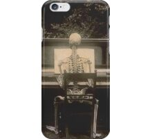 Victorian Skeletal Vignette iPhone Case/Skin