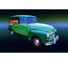 1949 GMC Canopy Truck Photographic Print