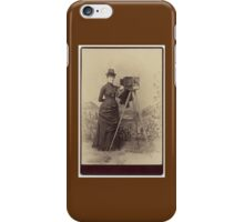 Victorian Photographer iPhone Case/Skin