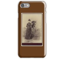 Victorian Photographer iPhone Case/Skin