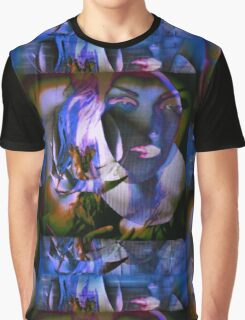 6560b Orchid Goddess Graphic T-Shirt