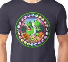 Yoshi Egg Color Wheel Unisex T-Shirt