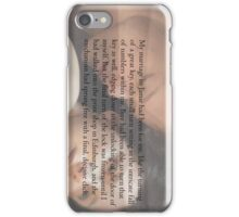 Outlander/Jamie and Claire Fraser/Voyager iPhone Case/Skin