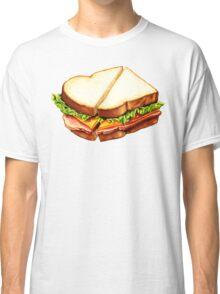 Ham Sandwich Pattern Classic T-Shirt