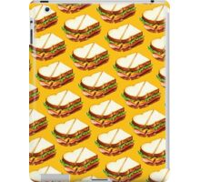 Ham Sandwich Pattern iPad Case/Skin