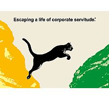 Corporate Servitude Photographic Print