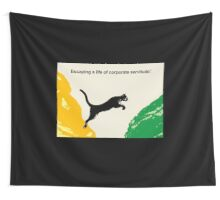 Corporate Servitude Wall Tapestry