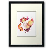 Pokemon- Braixen Framed Print