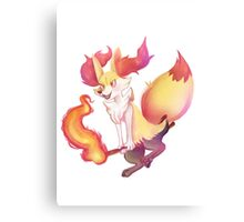 Pokemon- Braixen Canvas Print