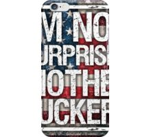 Diaz Quote on USA Flag iPhone Case/Skin