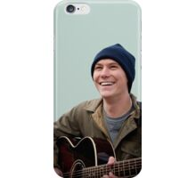 Brian Sella (The Front Bottoms) with Guitar iPhone Case/Skin