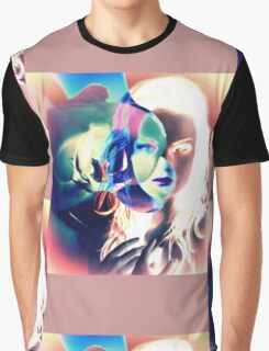 6535i Orchid Goddess Graphic T-Shirt