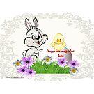 Egg-cellent Easter by Ann12art