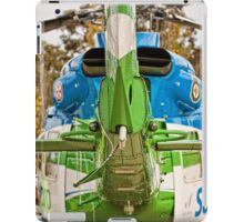 Helicopter (1) iPad Case/Skin
