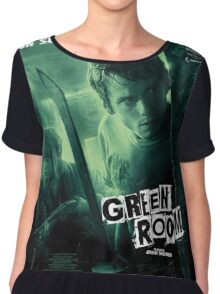 Green Room 'Un Survival Dement' Chiffon Top