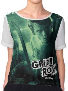 Green Room 'Un Survival Dement' Chiffon Top