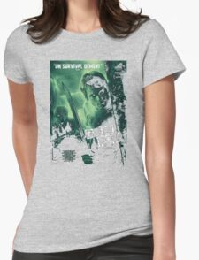 Green Room 'Un Survival Dement' Womens Fitted T-Shirt