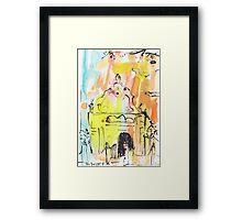 Groote Kerk, Galle Fort Framed Print