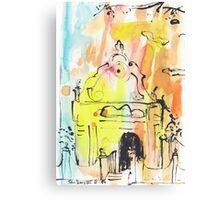 Groote Kerk, Galle Fort Canvas Print