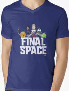 Olan Rogers' Final Space Mens V-Neck T-Shirt