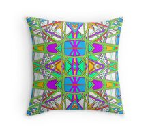 Patterns 3 - Pipe Cleaners Throw Pillow