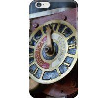 Steam punk gauge iPhone Case/Skin