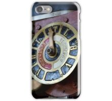 Steam punk gauge iPhone Case/Skin