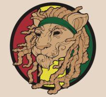 Rasta Lion Dreadlock Monsta  by BasicLee