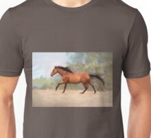 Galloping Thoroughbred Horse Unisex T-Shirt