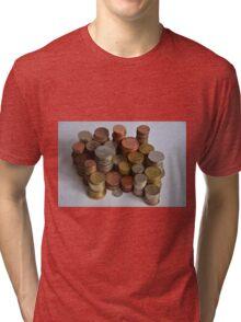 coins Tri-blend T-Shirt