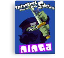 Splatfest Team Ninja v.3 Canvas Print