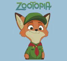Little Nick Zootopia Kids Tee