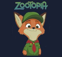 Little Nick Zootopia Kids Tee