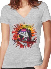 Travel Bug Women's Fitted V-Neck T-Shirt