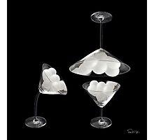 Martini Pongs  Photographic Print