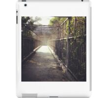 Organic Bridge - Urban Landscape iPad Case/Skin