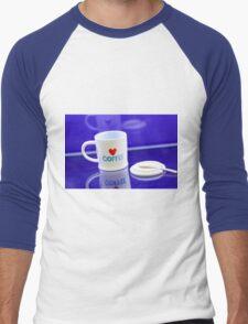 coffee cup Men's Baseball ¾ T-Shirt