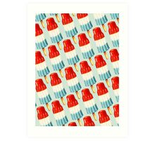 Bomb Pop Pattern Art Print