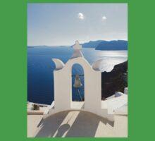 Santorini. Church Bell One Piece - Short Sleeve