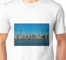 Manhattan view from Hudson Unisex T-Shirt