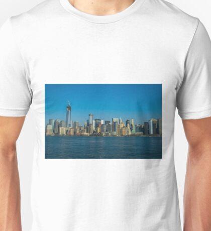Manhattan view from Hudson Unisex T-Shirt