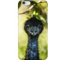 Hallo, I am Mr Emu, from Australia iPhone Case/Skin