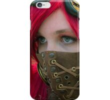 Mysterious Steam Punk Red Head iPhone Case/Skin