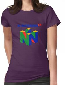 Nintendo 64 Womens Fitted T-Shirt